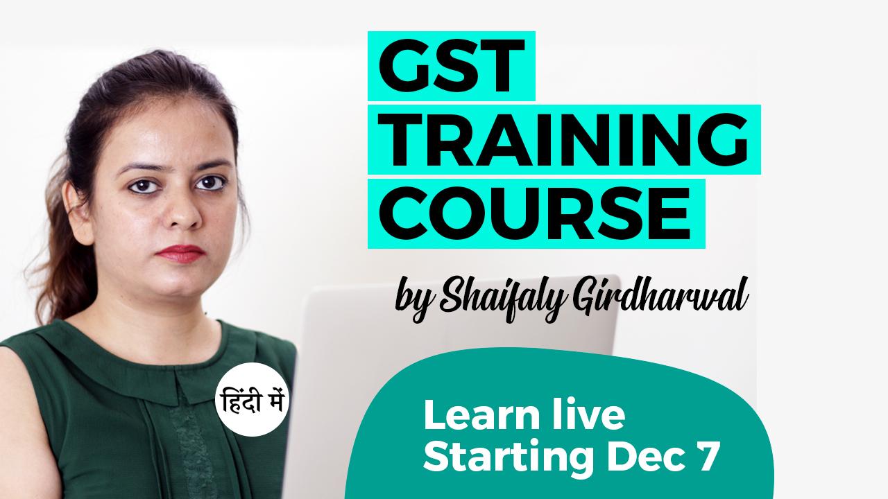 Live GST Webinar