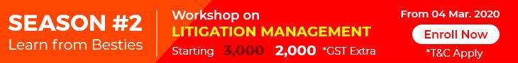 Litigation Management Webinar