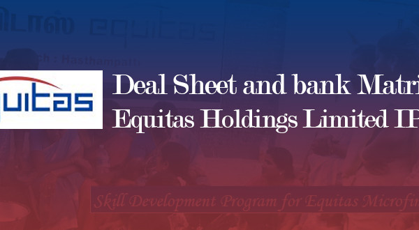 Equitas holdings ipo share price