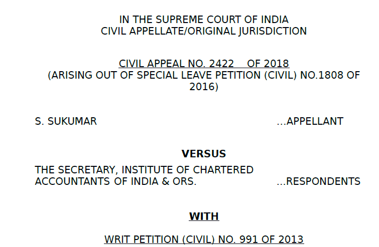 Supreme Court Judgement on Multinational Accounting Firms