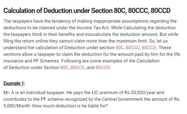 Calculation of Deduction under Section 80C, 80CCC, 80CCD - CONSULTEASE.COM - Google Chrome 2018-08-06 12.20.28