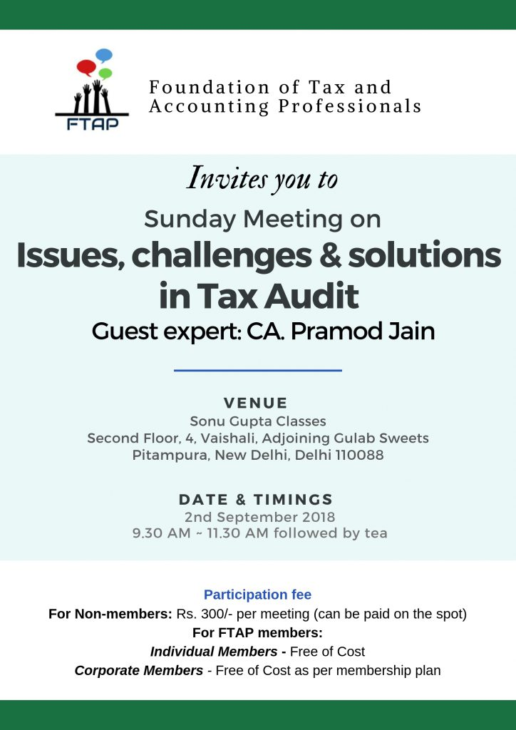 FTAP Sunday Meeting Announcement (2)