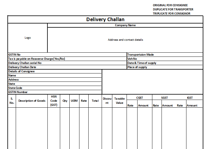 delivery challan - Excel 2018-08-07 17.25.46