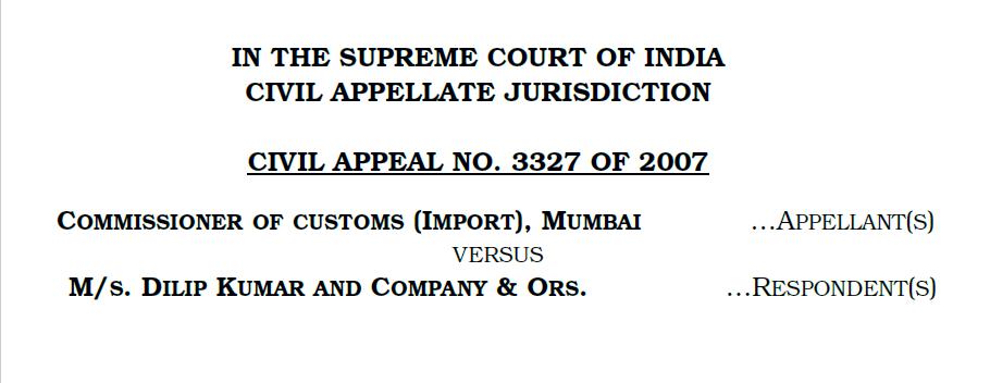 Exemption Notifications