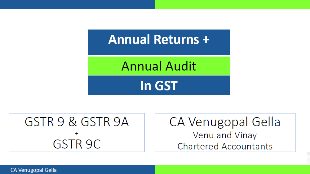 Annual Returns and Annual Audit