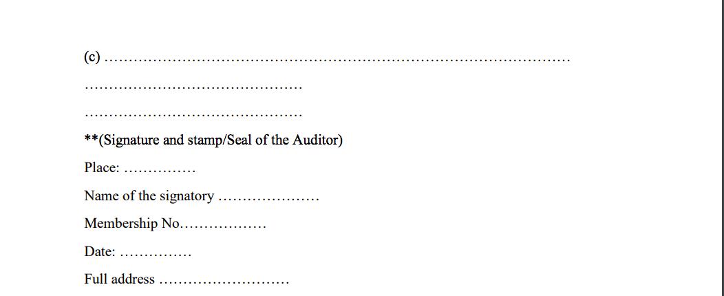 GST Audit Certification 03