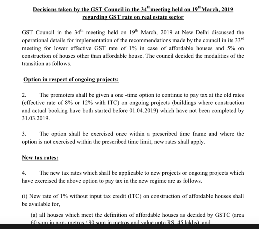 Press release 34th GST Council (page 1 of 3) 2019-03-19 18-55-51