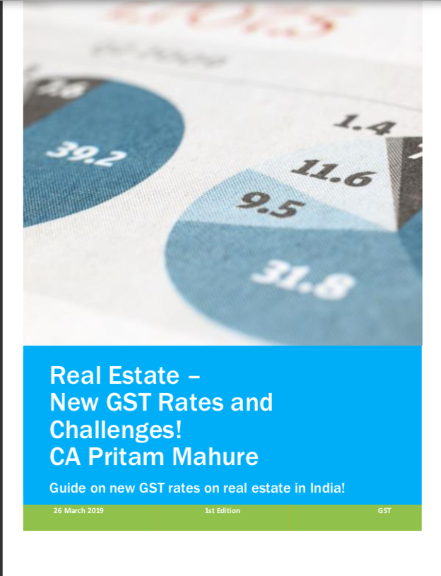 Free E-book on GST on Real estate
