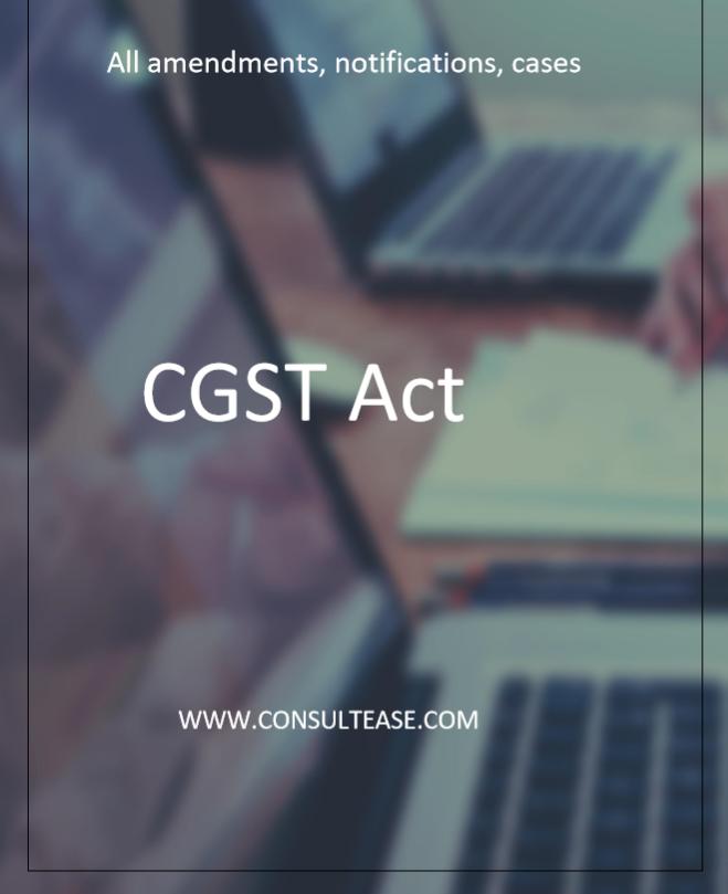 CGST Act
