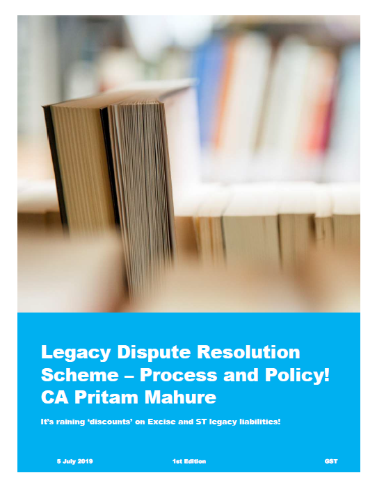 Legacy Dispute Resolution Scheme – Process and Policy!                                    CA Pritam Mahure - Adobe Acrobat Reader DC 2019-07-08 19.04.15
