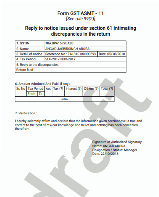 Filing reply in Form GST ASMT-11 dt.2.11.2019 (3).docx 2019-11-05 07-58-38