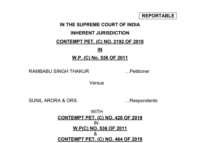 Supreme Court's Six Mandatory Directions To Political Parties To End Criminalisation Of Politics