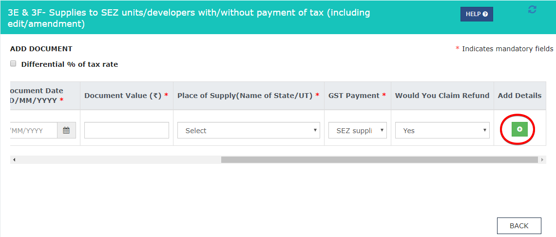 new GST return is live on the portal