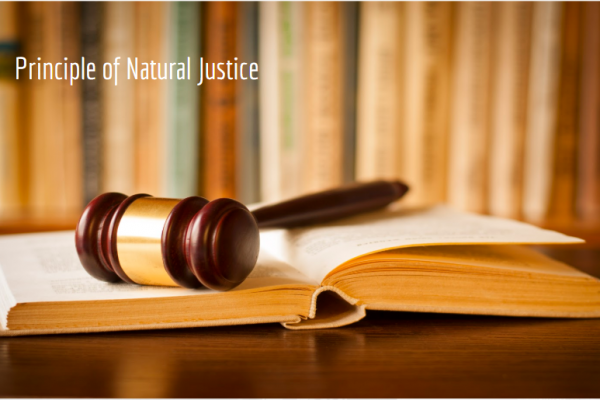 principle of natural justice