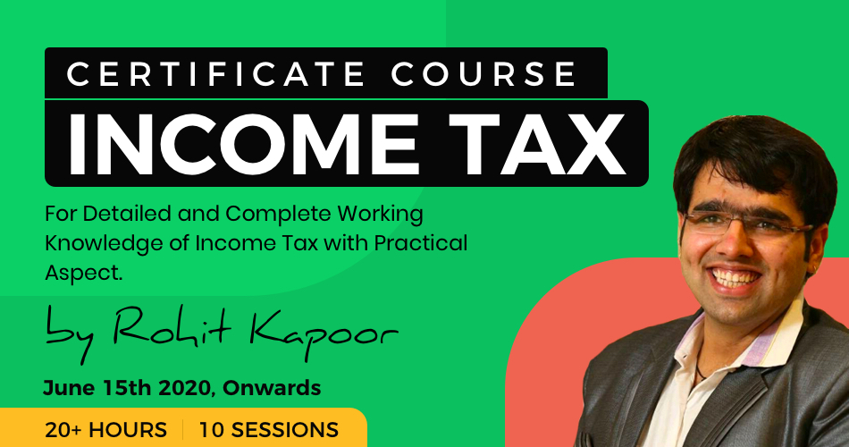 certificate course in Income Tax