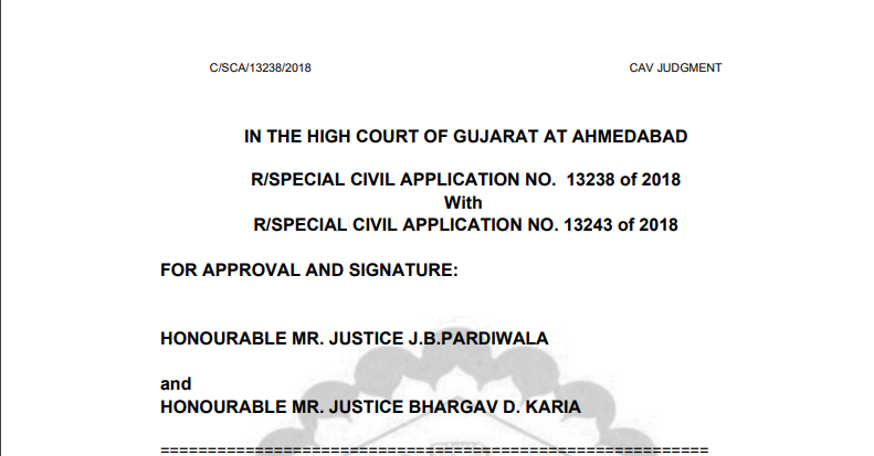 Gujarat HC in the case of Material Recycling Association of India