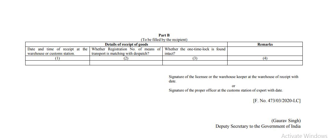 Notification No. 75/2020-Customs (N.T.)