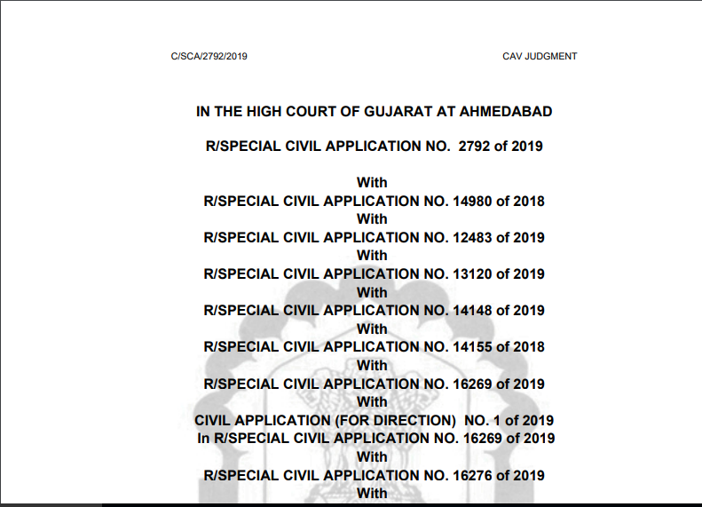 Gujarat HC in the case of VKC Footsteps India Pvt. Ltd.