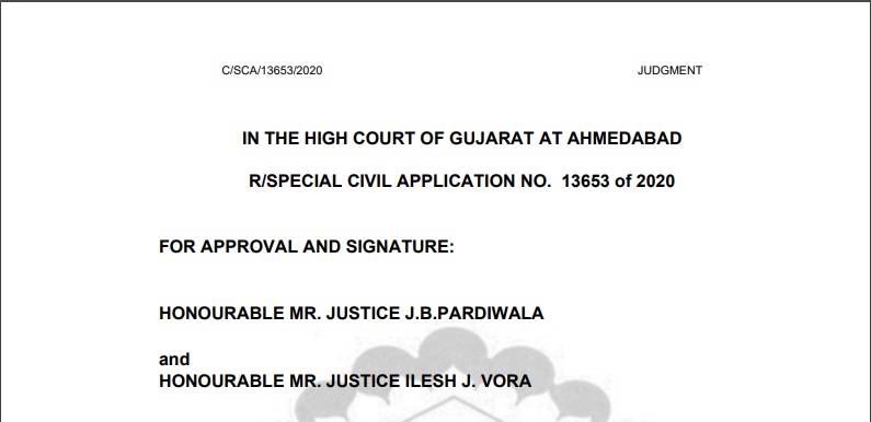 [Read Order] Gujrat High Court Directed to Extend The Due Dates