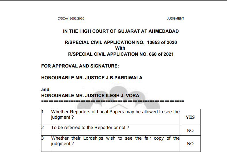 Gujarat HC in the case of The All Gujarat Federation of Tax Consultants Versus Union of India