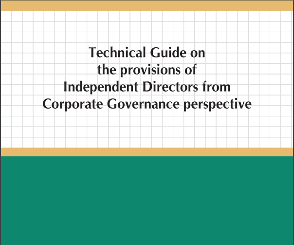 Technical Guide on the Provisions of Independent Directors with Corporate Governance Perspective: ICAI