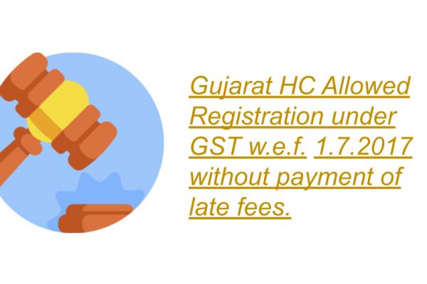 Gujarat HC in the case of JAP Modular Furniture Concepts (P) Ltd.