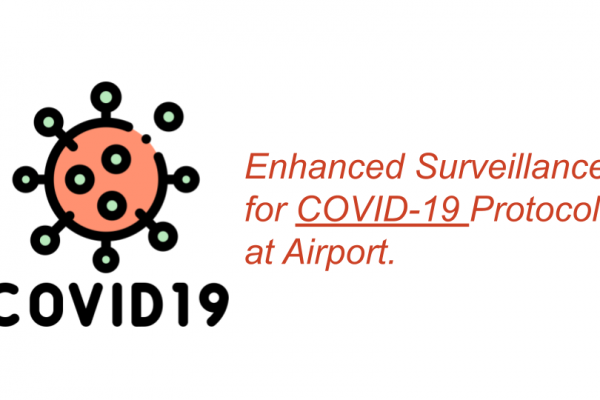Enhanced Surveillance for COVID-19 Protocol at Airport.