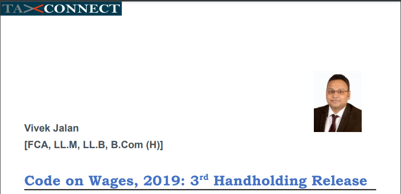 Code on Wages, 2019: 3rd Handholding Release