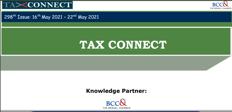 """298th Issue of """"Tax Connect"""""""