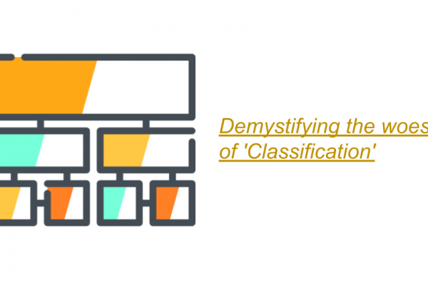 Demystifying the woes of 'Classification'