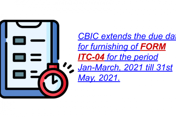 Notification No. 11/2021 – Central Tax