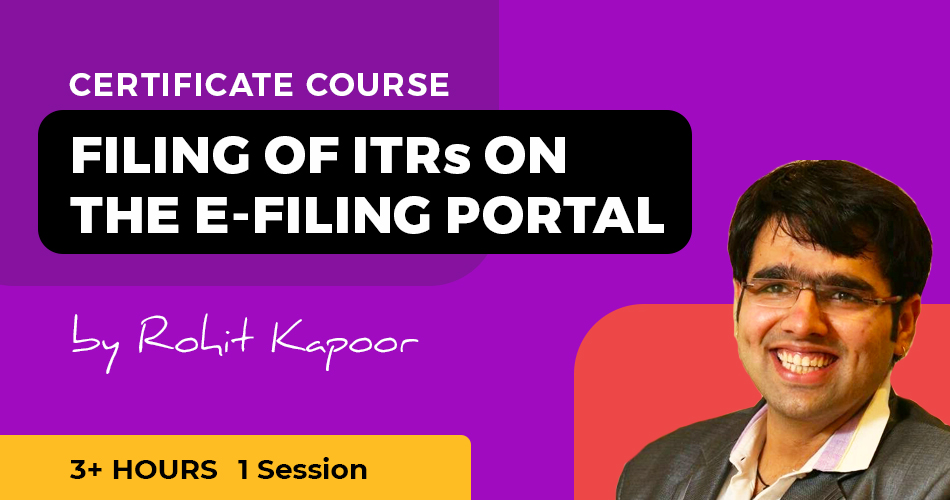 ITRs efiling course