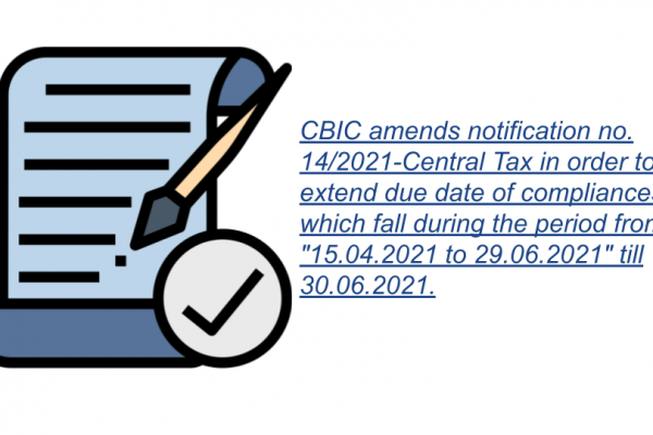 Notification No. 24/2021 – Central Tax