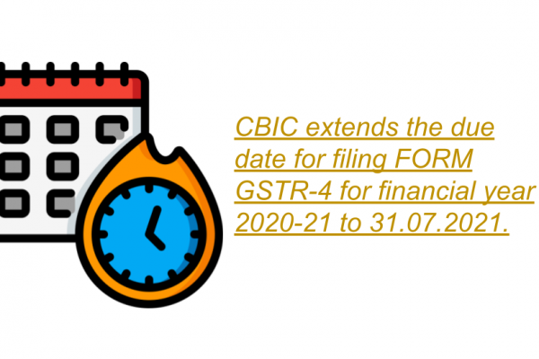 Notification No. 25/2021 – Central Tax