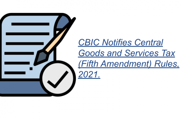 Notification No. 27/2021 – Central Tax