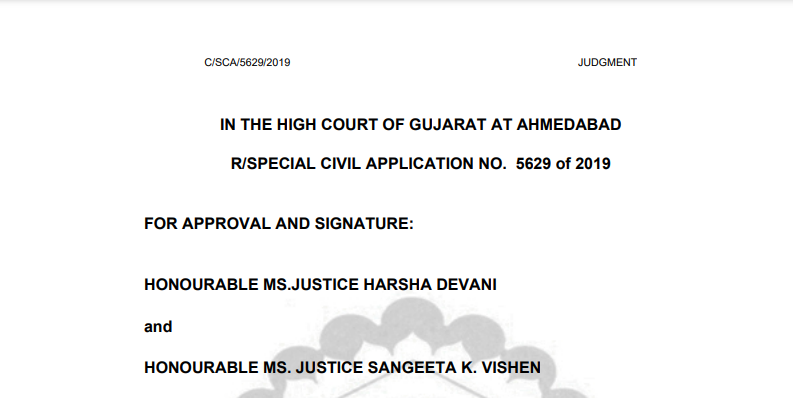 Gujarat HC in the case of Messrs Vishnu Aroma Pouching Pvt Ltd Versus Union Of India.