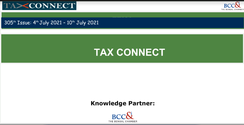 305th issue of Tax Connect