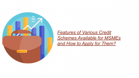 Features of Various Credit Schemes Available for MSMEs and How to Apply for Them?