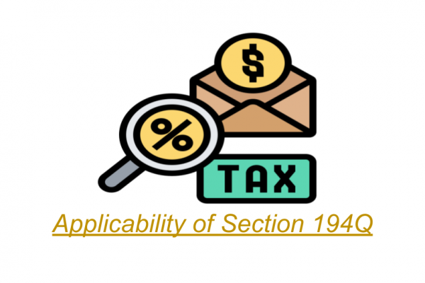 Applicability Of Section 194Q