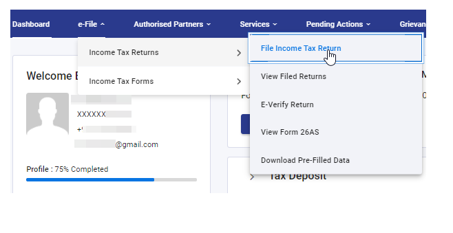 How to File the Income Tax Return of a Salaried Person in 2021