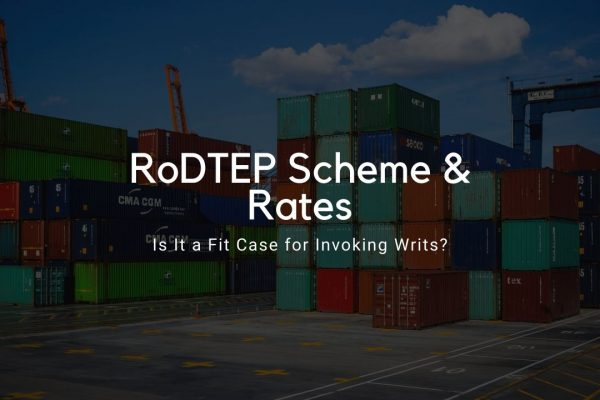 RoDTEP Scheme and Rates