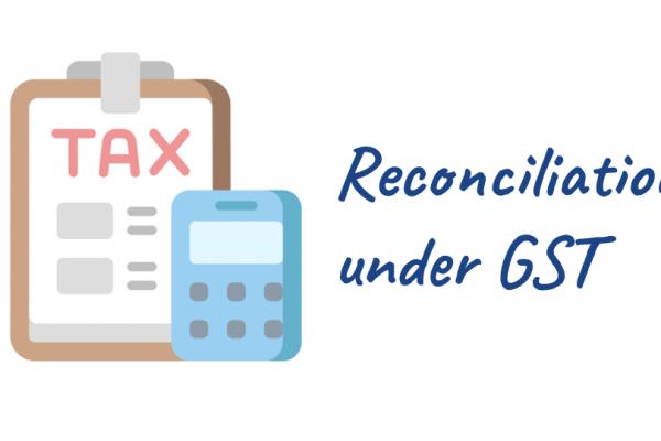 Reconciliation under GST
