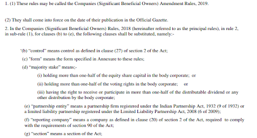 amended sbo rules,2019